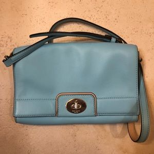 Kate Spade Tiffany Blue Cross Body